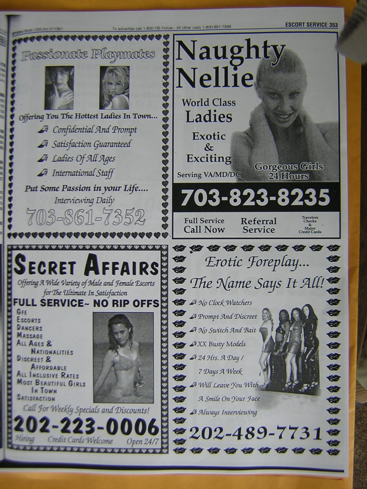 One Can Count 16 Escort Businesses That Begin With The Letter E Alone In The Accompanying Listings
